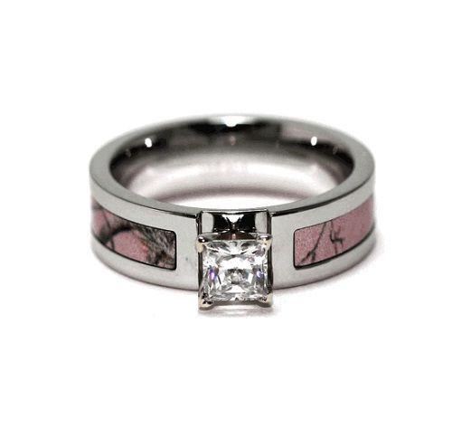 Camo Wedding Rings for Women | ... camo engagement ring for women Pink Camo Engagement Rings for Women