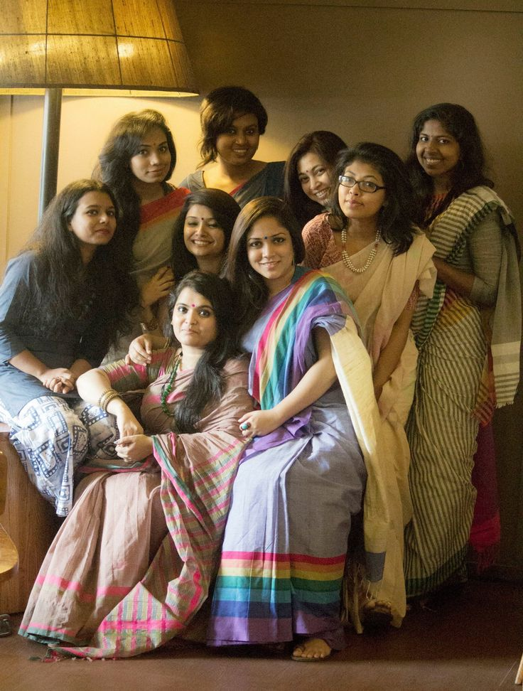 Few months back, me & my friends planned to make a habit to meet up once in a month, when all the Ladies will be draped in Deshi Sarees including Menka Bangladeshi Saree. Since then, we are happily doing it, exploring life and becoming more realistic each day. The circle is becoming bigger and better with the new faces in every get together. They are the new generation of Bangladesh who not only appreaciate Menka but also love to wear Bangladeshi Saree!