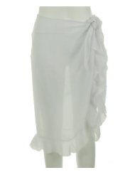 Dotti Coverup Ruffled Skirt