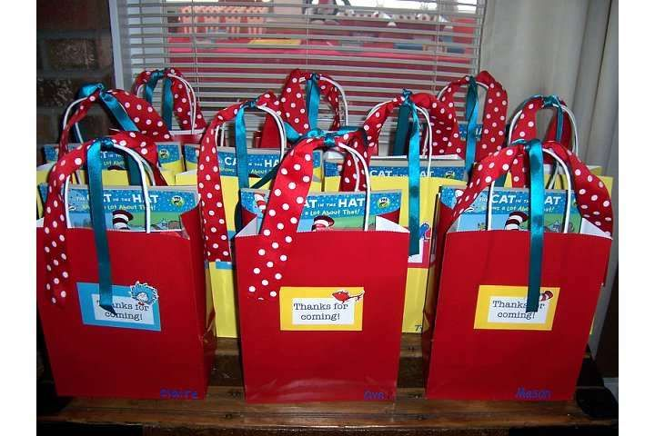 Dr. Seuss First Birthday! | CatchMyParty.com