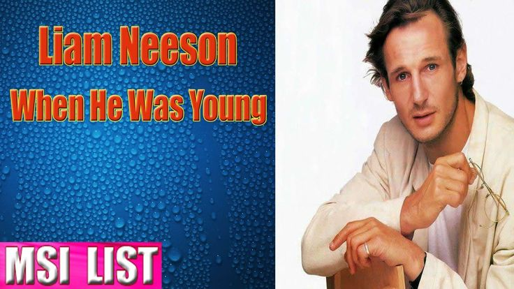 20 Pictures of Liam Neeson When He Was Young (With images ...