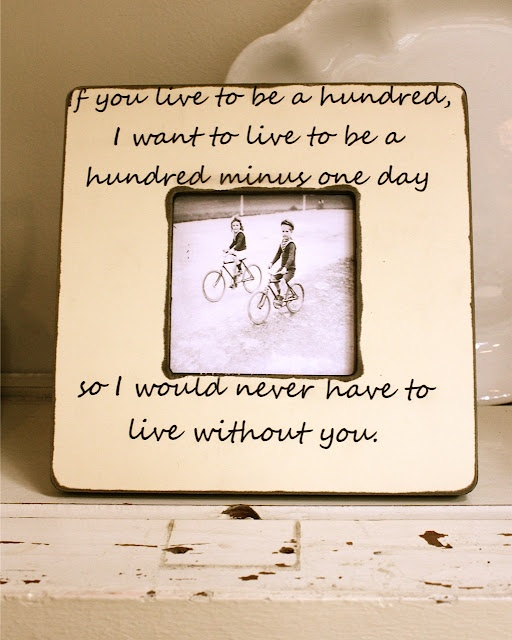 To my husband ~ tomorrow's our   33rd anniversary