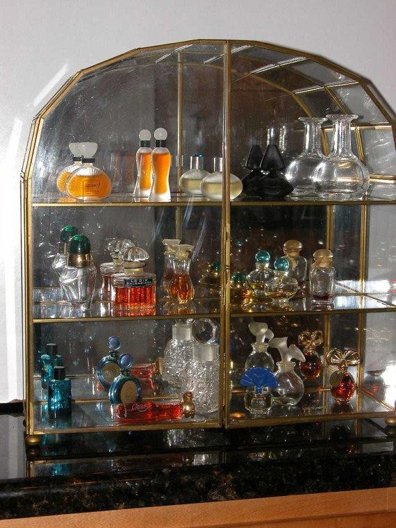 24 best snuff case images on pinterest bottle display for Glass bottle display ideas
