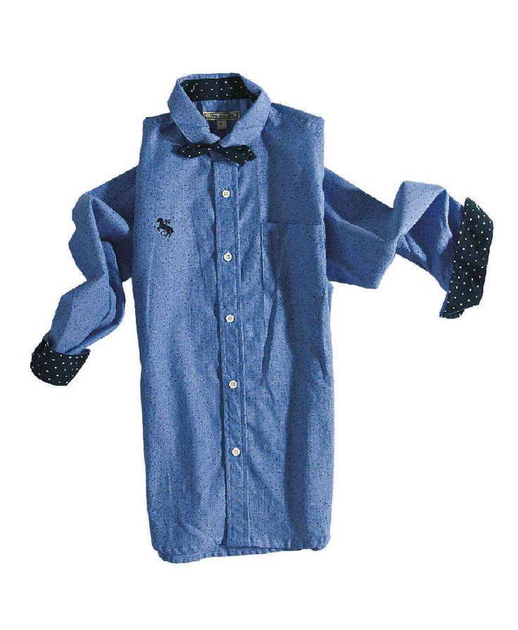 Πουκάμισο μπλε πουά με παπιγιόν  | Poulain.gr #πουκάμισο #πουκάμισα #πουκάμισο_πουά #παιδικά_πουκάμισα #παιδικά_ρούχα #παιδικά_ρούχα_poulain #poukamisa #paidika_rouxa #kids #childrens_clothes #kids_fashion