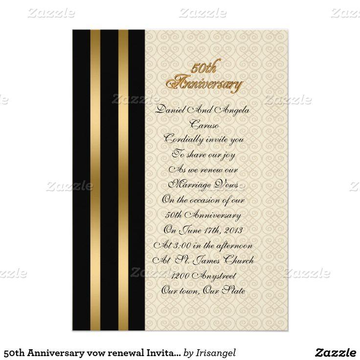invitations wedding renewal vows ceremony%0A   th Anniversary Invitation elegant    th Anniversary Invitations  th  Anniversary PartiesVow Renewal