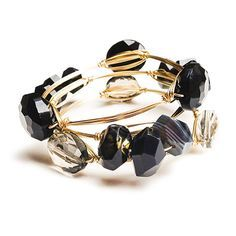 Learn to make these trending bangles with wire wraps around each stone. Usually…