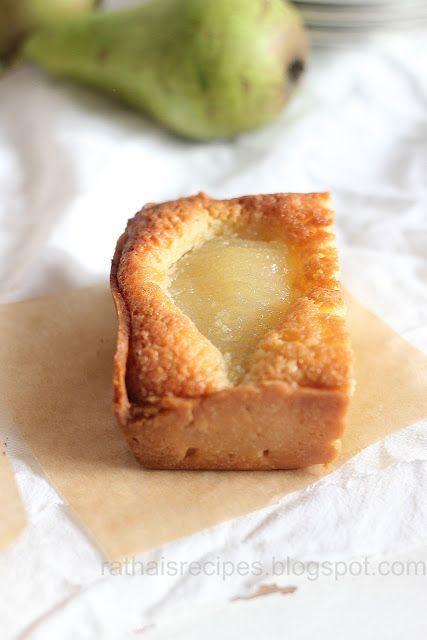 Rathai's Recipes: Pear frangipane tart