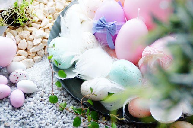 Ripaus unelmaa Puttipajalta: Pääsiäisen sisustusideat!  #pääsiäinen #pääsiäisherkkuja #kynttilä #raikaskevät #pääsiäiskattaus #puttipaja  #pääsiäiskoriste #kotimainenkynttilä
