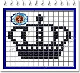 Knitting Stitch In Crossword : 486 best couronnes point de croix images on Pinterest Cross stitch patterns...