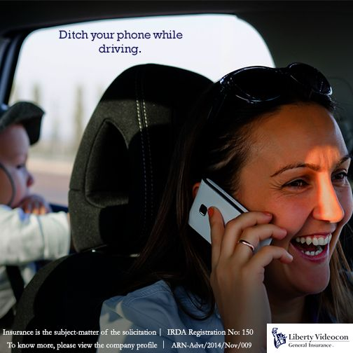 Don't talk on the cell while driving #Safedrive