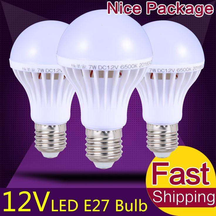 Energiebesparing E27 LED Lamp Verlichting DC 12 Volt LED Lamp 3 W 5 W 9 W 12 W 15 W High Power Lamparas Led-lampen 12 Volt voor Outdoor