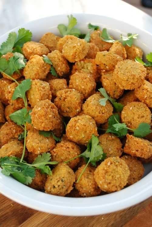 Falafel med två olika kryddningar | Recept på Taffel