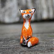 """Купить Миниатюрная керамическая статуэтка """" Любопытный ослик"""" - миниатюрный ослик, осел, осленок"""