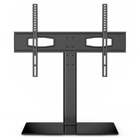 Fitueyes Universal TV Stand Tabletop TV Base For Up To 60 Inch Flat Screen  TVs FTT105201GB