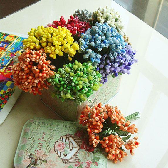 Сен женской линии ювелирных изделий DIY ручной работы аксессуары ручной работы материалы с Берри цвет листьев цветок цветы 12 цена - Taobao