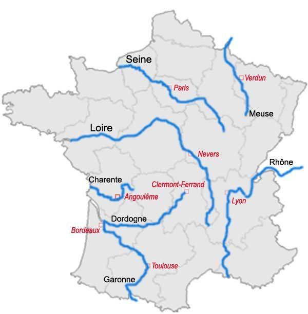 vacances france fleuves
