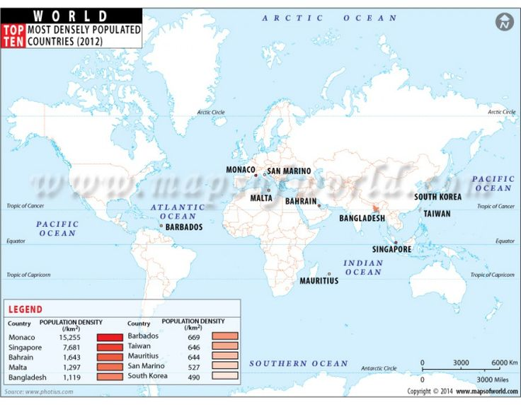 20 best world top 10 theme map images on pinterest top ten buy most densely populated top ten countries of world sciox Gallery