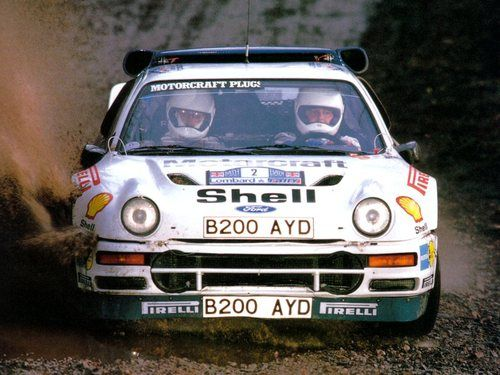 Ford RS200 rally car