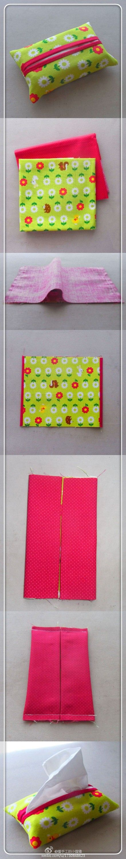 Tissue holder - another version