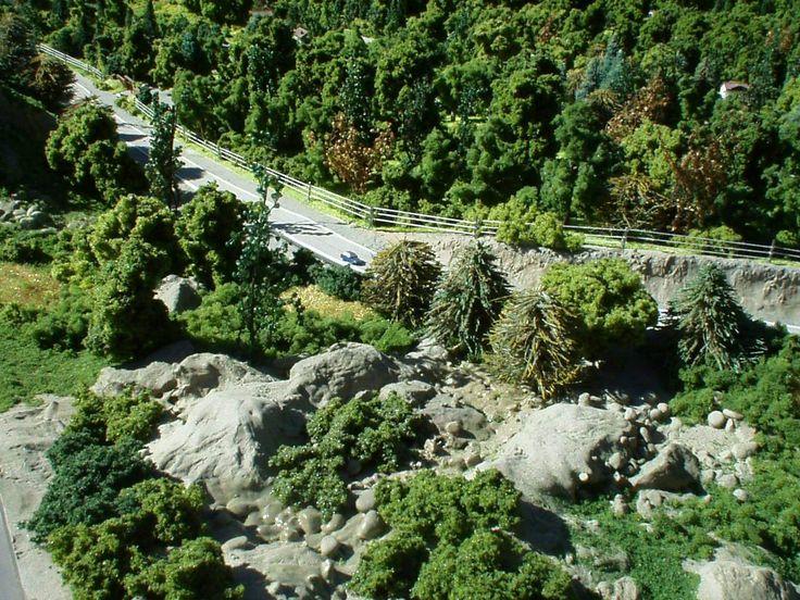 Maqueta Muelle de Piedra Villa la Angostura - Neuquén