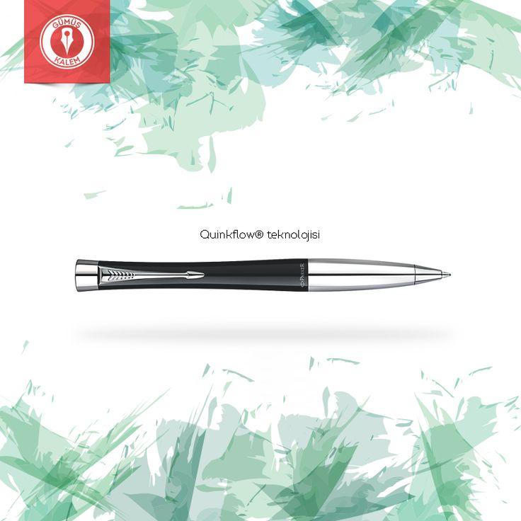 Quinkflow® teknolojisi sayesinde daha pürüzsüz, daha temiz ve daha tutarlı bir yazma performansı: Parker tükenmez kalem >>> https://goo.gl/3XMkMa
