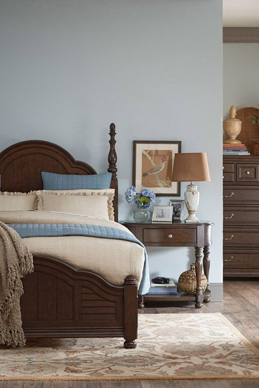 Add A Touch Of Romance With The Havertys Welcome Home Poster Bed. It  Features A