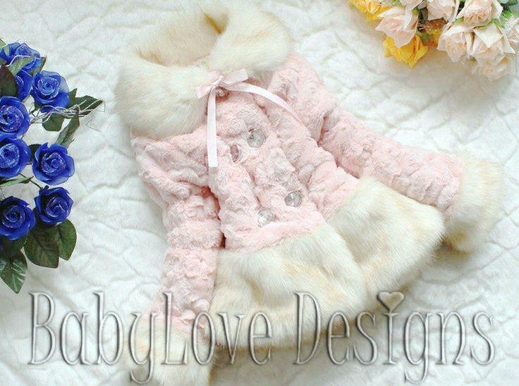 Girls Fur Coat $30 + P&H