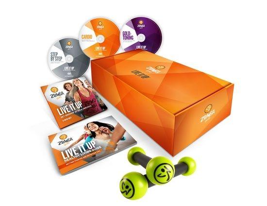 Zumba Gold LIVE IT UP - 3 - DVD Set   Zumba Fitness Shop