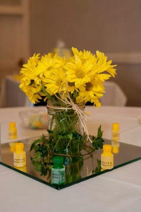 John Deere Wedding-Table Arrangements
