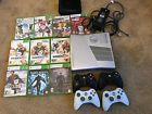 Microsoft Xbox 360 S Halo Reach 250 GB Silver Console Dark Souls 4 Contrl Bundle