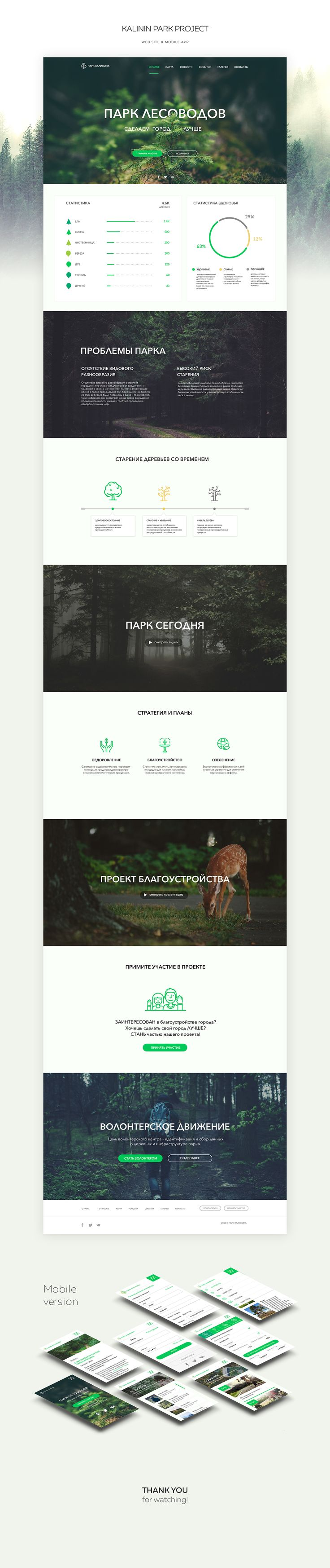 Kalinin Park on Behance