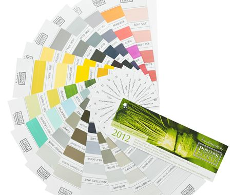 Porter's Paints 2012 Colour Range