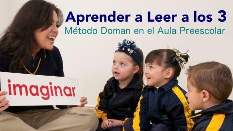 Aprender a leer a los 3 - Adaptación del Método Doman para la escuela preescolar. ¡Enseña a leer a tus niños de forma natural y divertida! - $150