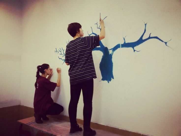 Painting classroom