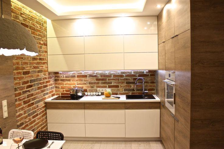 Kuchnia styl Nowoczesny - zdjęcie od REMLINE projekt i realizacja - Kuchnia - Styl Nowoczesny - REMLINE projekt i realizacja