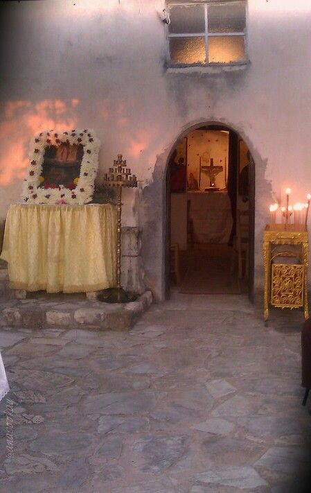 #Greek_little_church #Kyparissia