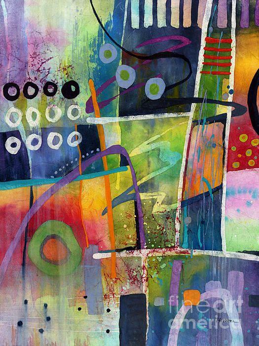 Fresh Jazz Painting by Hailey E Herrera