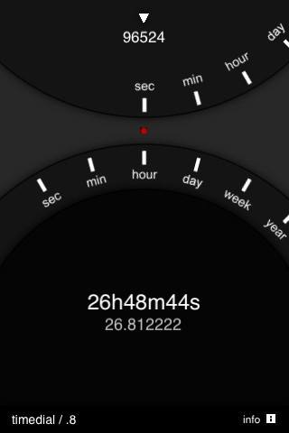 Time Dial - iPhone app