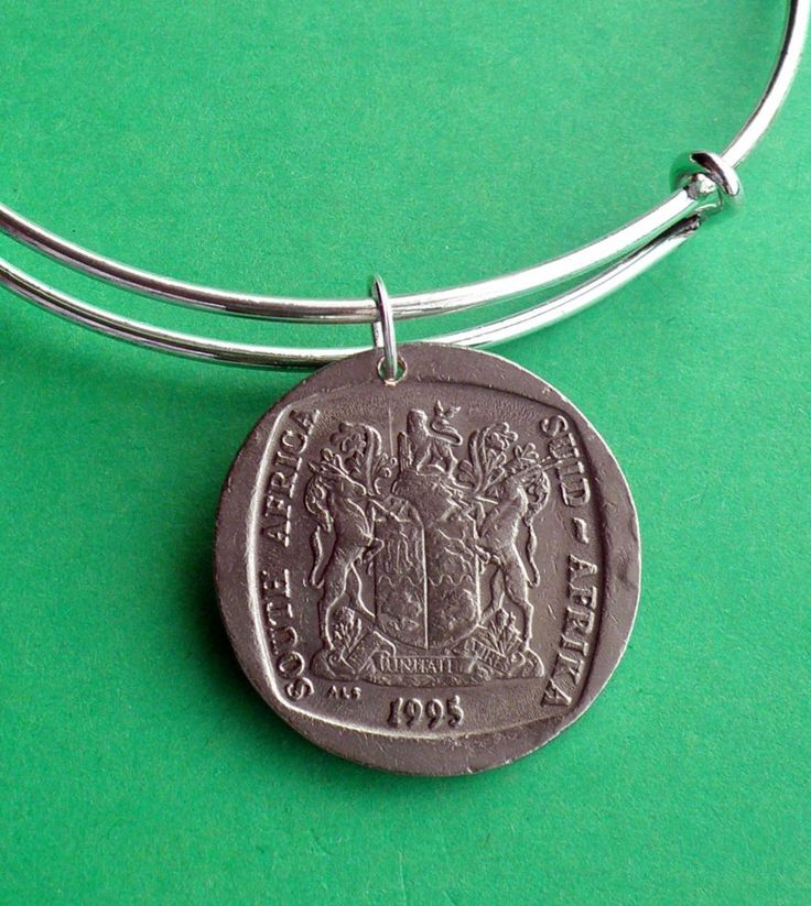 21st Birthday South Africa Rand 1995 charm Bracelet, Personalise the bracelet…