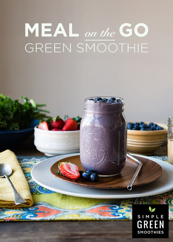 Meal Replacement Green Smoothie - Simple Green Smoothies