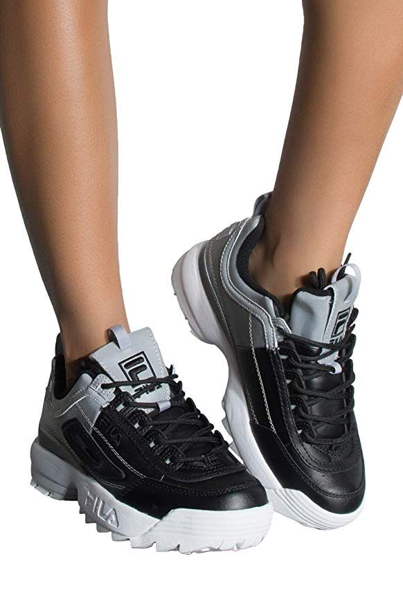 FILA Women's Disruptor 2 Premium Reflective Sneakers ...