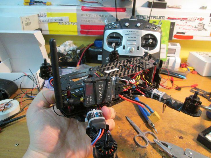 Комплектующие к любым мультикоптерам, квадрокоптерам в интернет магазине radiopodelka.ru работаем по всей России!
