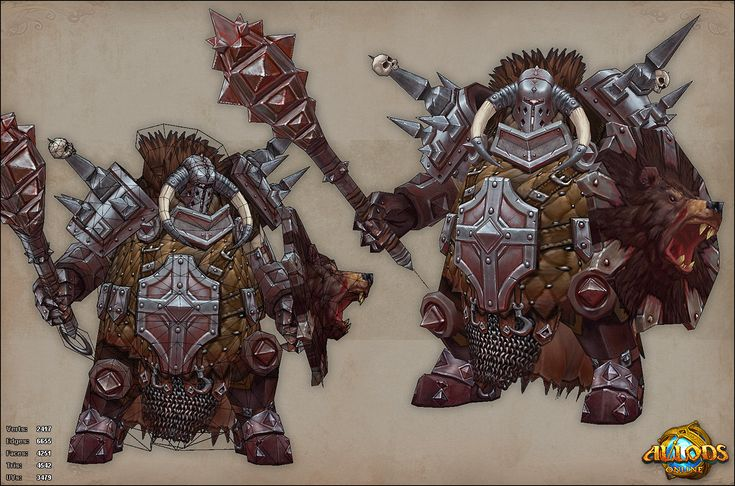 Allods Online ingame artwork - Polycount Forum