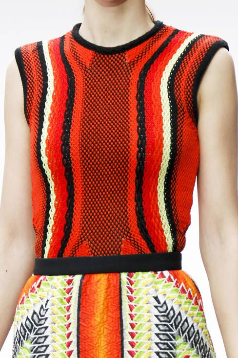 Peter Pilotto Spring 2013 Ready-to-Wear Detail