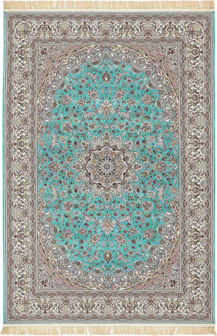 Turquoise 200cm x 300cm Dynasty Rug | Area Rugs | AU Rugs