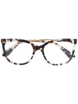 006f8eb077fd4 Dolce   Gabbana Eyewear Armação de óculos gatinho
