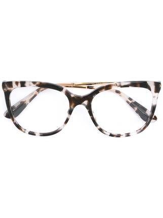 Dolce   Gabbana Eyewear Armação de óculos gatinho   óculos ... 146dbafa94
