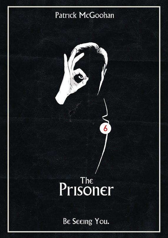 The Prisoner Be Seeing You Poster por Traumatron en Etsy