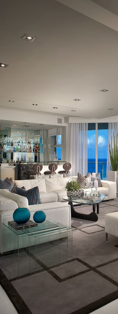 : Stunning Home Interiors Via ༺♥༻LadyLuxury༺♥༻