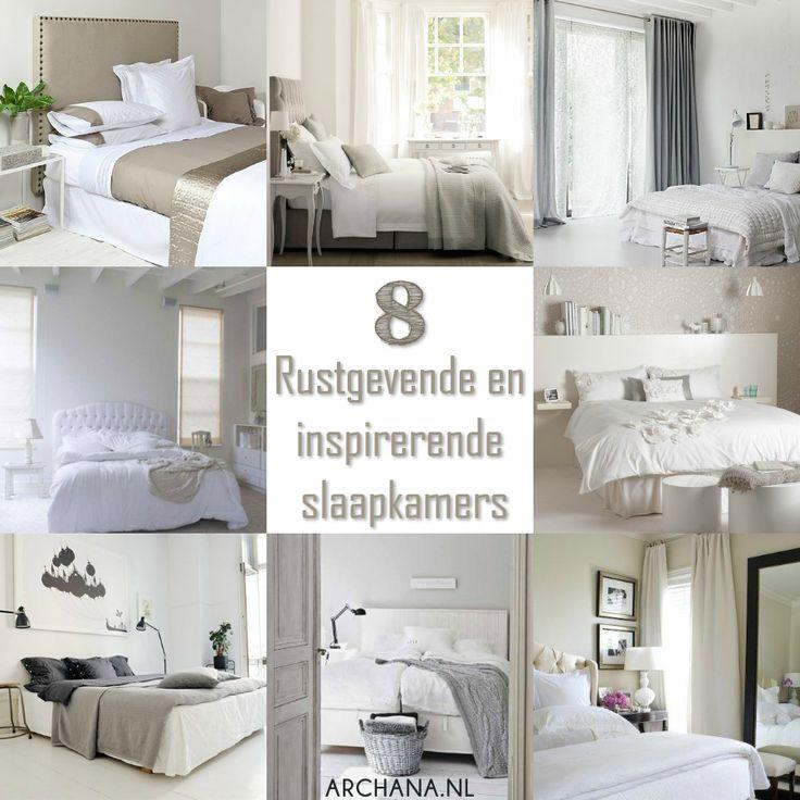 SLAAPKAMERS: Rustgevende en inspirerende slaapkamers   via www.archana.nl